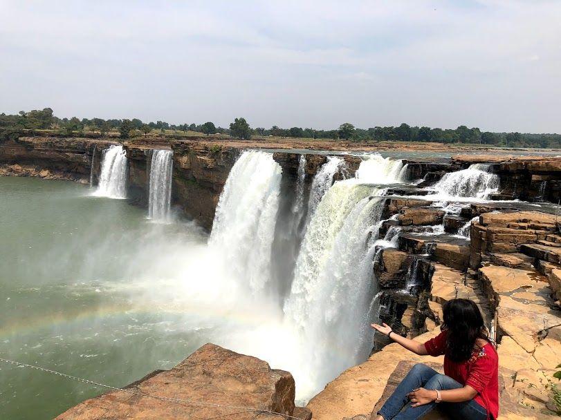 Photo of Chitrakoot Falls, Tiratha, Chhattisgarh, India by Anandita Pattnaik