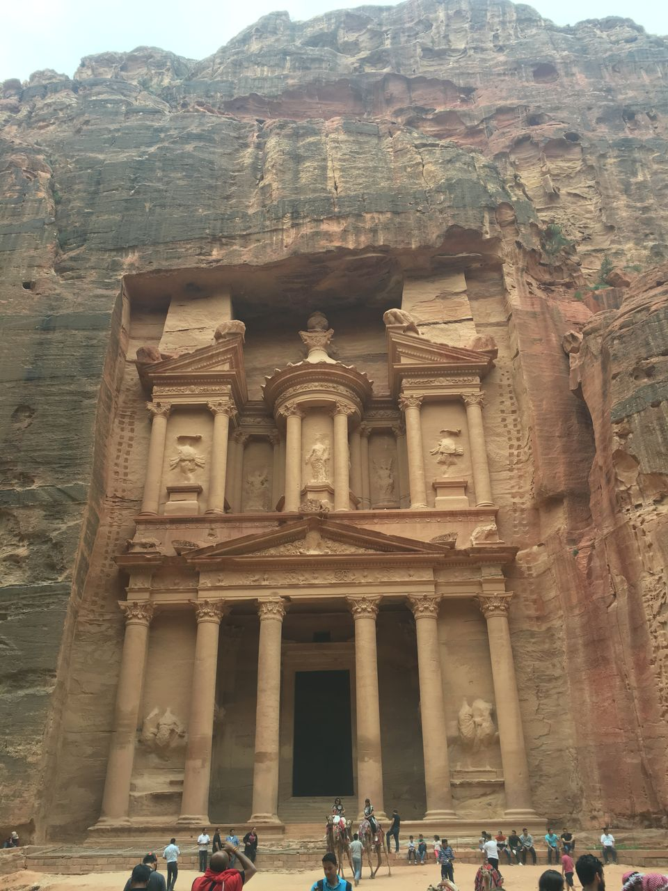Wandering at the Wonders of the World.. the Lost City of Petra