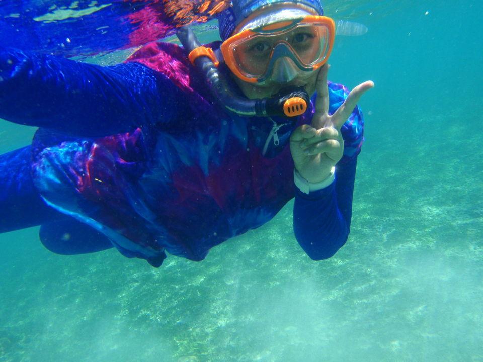 Photos of underwater selfie ^^ 1/9 by hide in a chair