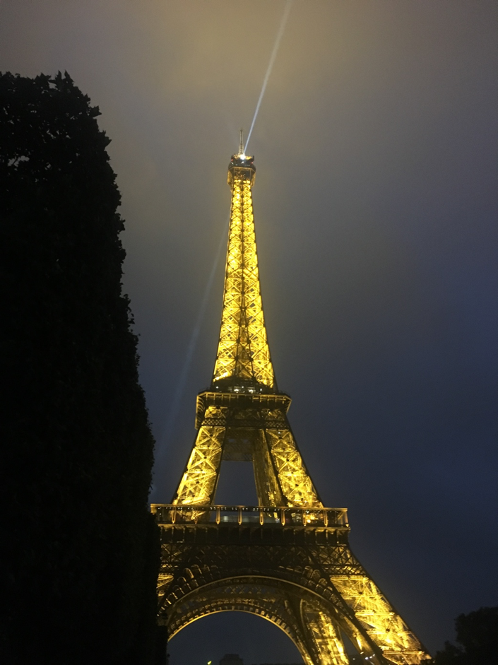 Photo of Eiffel Tower, Avenue Anatole France, Paris, France by The Trunk Travellers