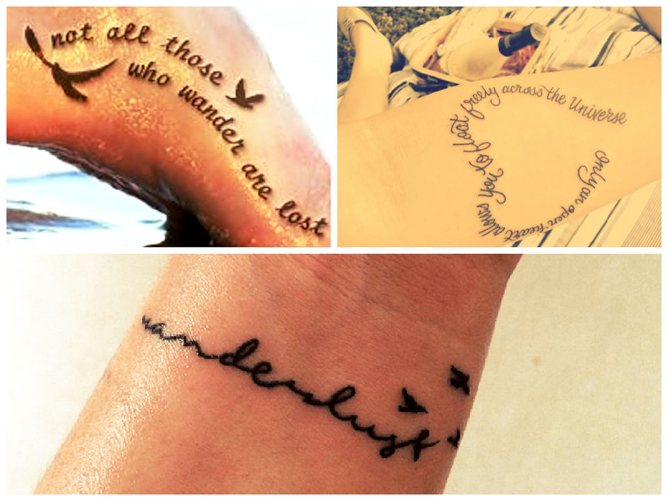 These Tattoos Will Give You Serious Wanderlust Tripoto