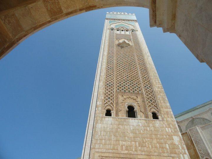 Morocco, where the sun sets