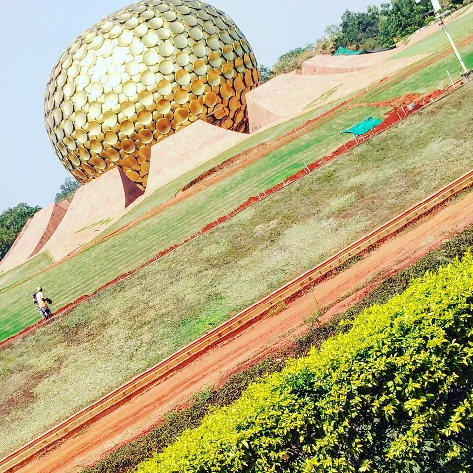 Photo of Matrimandir, Auroville, Bommayapalayam, Tamil Nadu, India by Deepak Sharma