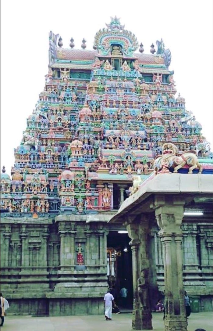 Photo of Srirangam, Tiruchirappalli, Tamil Nadu, India by Deepak Sharma