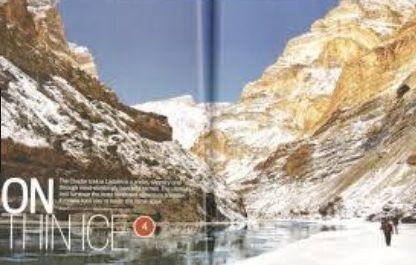 Chadar Trek- An Extraordinary & Unfinished Journey