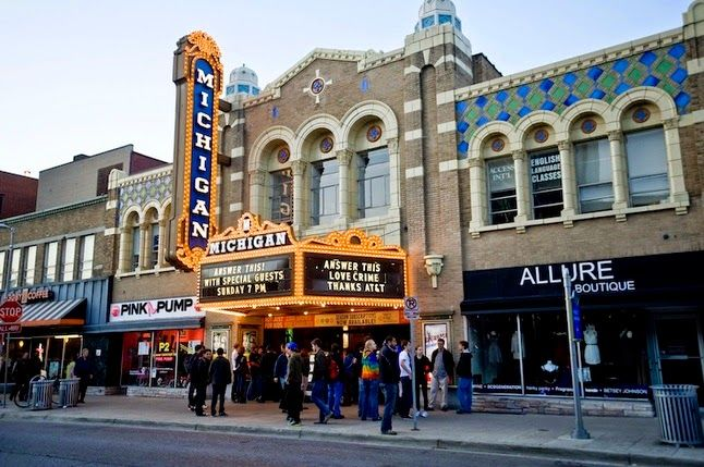 Photos of The Michigan Theatre 1/7 by Saakshi Kumar