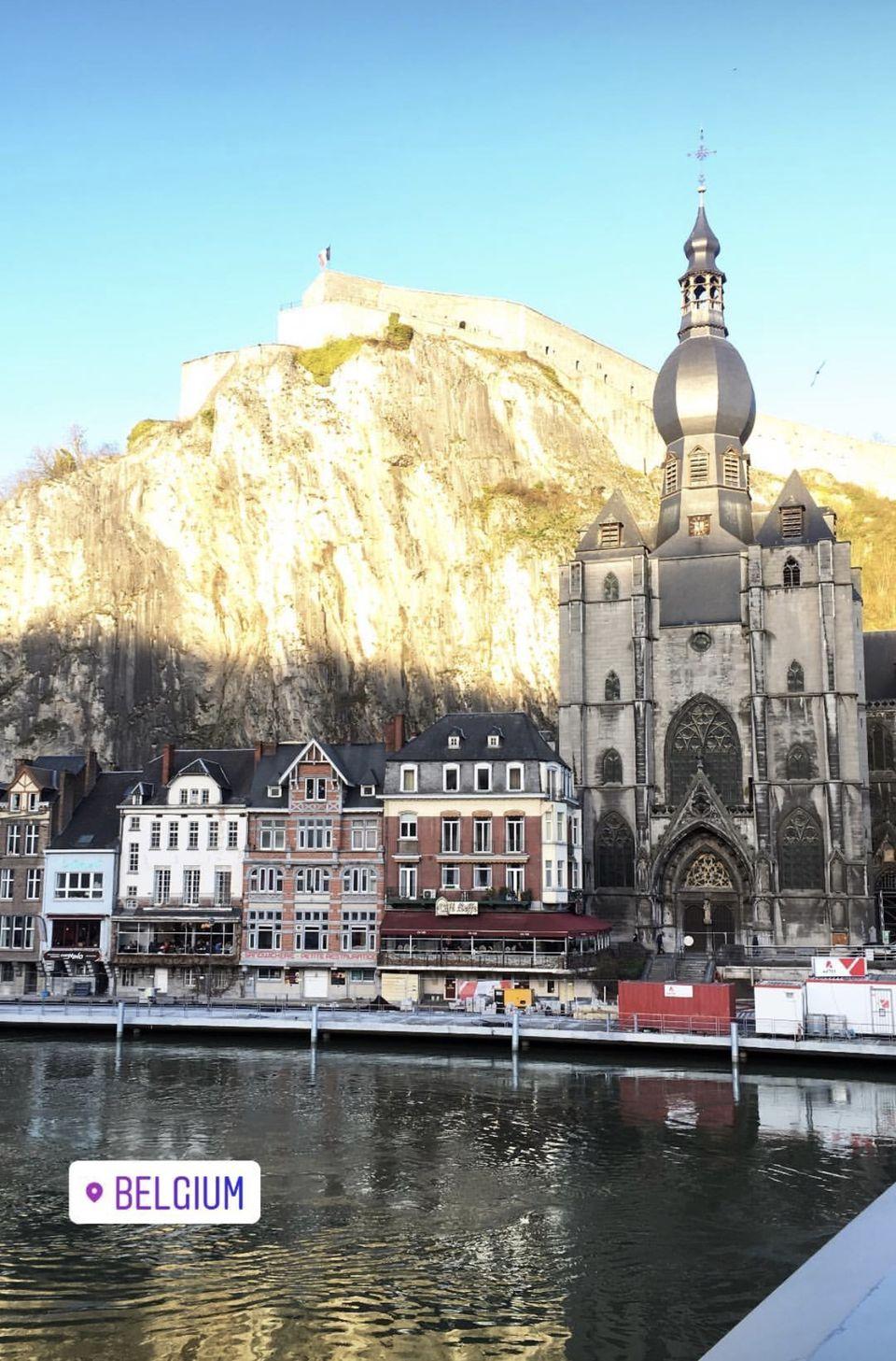 Hidden gem of Dinant in Belgium #BestTravelPictures #Globetrotting @tripotocommunity