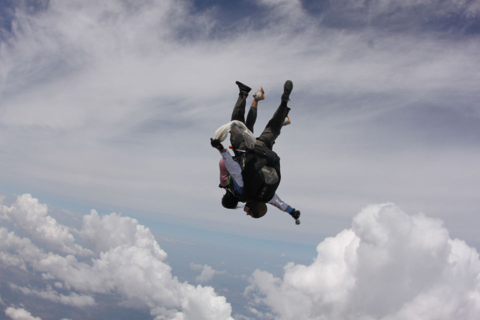 Skydiving at Chicago #USA #Tandem Jump #adventureactivity