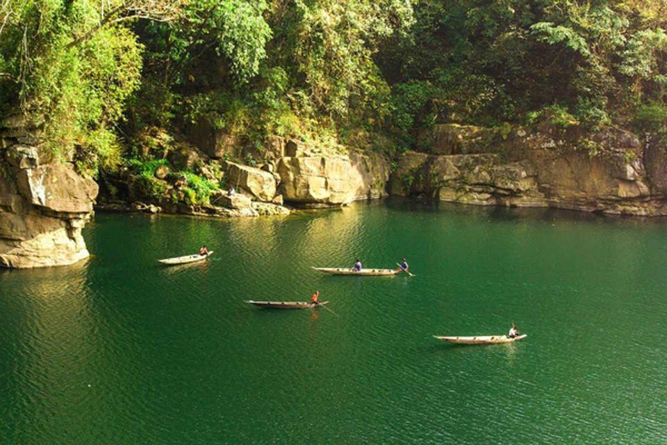 Photo of Dawki, Meghalaya, India by Solo Backpacker