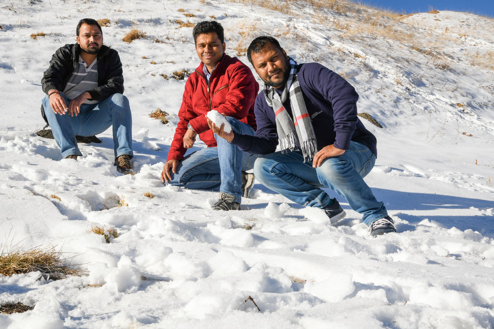 Photo of Winter trip to Parashar Lake, Tirthan Valley 3/17 by Amir Hasan