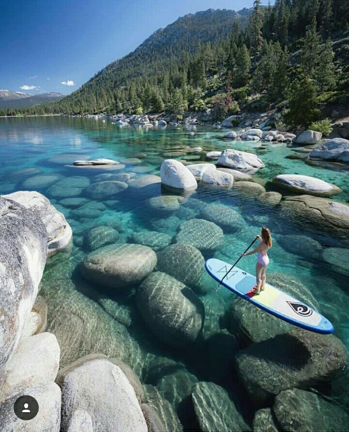 crystal clear water????