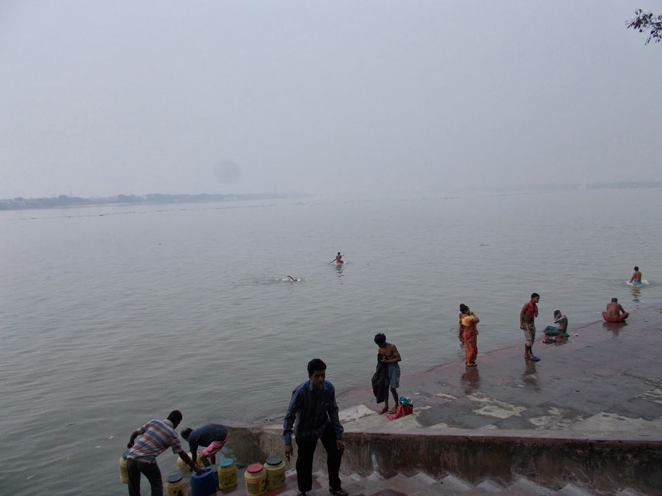Photos of People busy in taking bath in one of the ghat 1/5 by sreowshi sinha