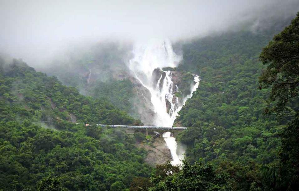 Photos of Dudhsagar Waterfall 1/8 by Ruchika Nayak