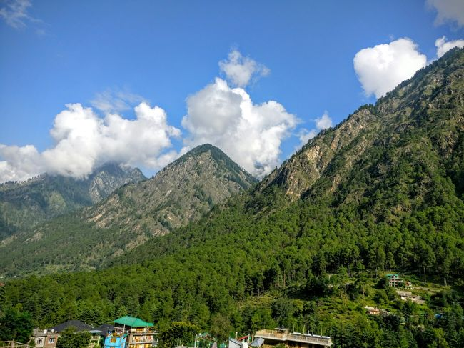 When you want to be high in Parvati Valley, but on nature.