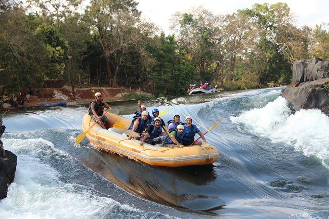 Dandeli: White water rafting in river Kali