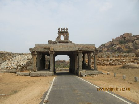 Hampi - A Walk through History and Nature in abundance