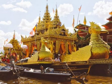 Myanmar: Paung Daw Oo Pagoda Festival - Inle Lake - Can Travel Will Travel