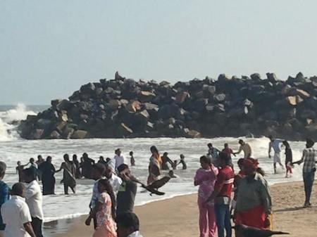 Poompuhar... the legendary beach!