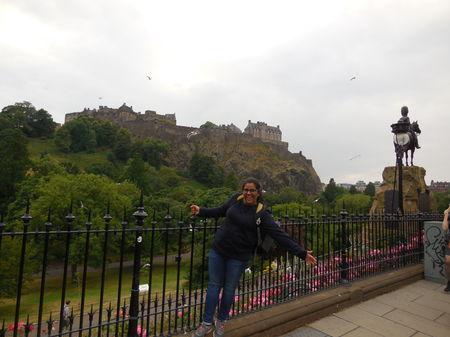 When In Neoclassical Capital of Scotland: Edinburgh