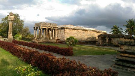 Ancient Temples and SPACE : Hassan, Belur, Halebidu