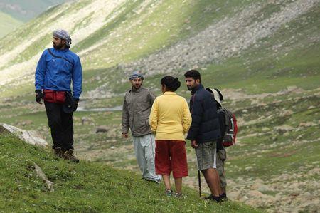 Trekking towards Famber Valley Kishtwar