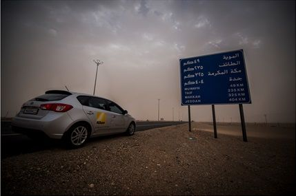 12 days on the road in Saudi Arabia