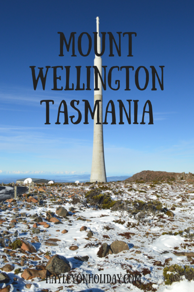 Mount Wellington In Hobart, Tasmania