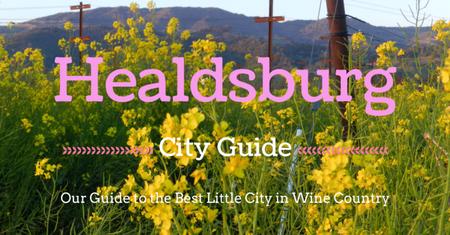 Healdsburg city guide