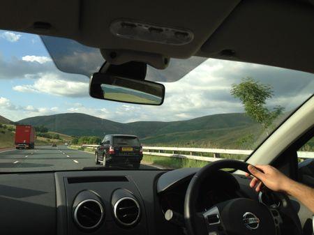 A roadtrip to the countyside of Scotland