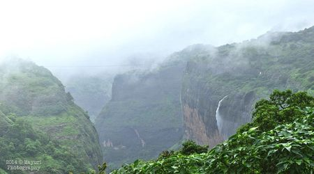 Best five monsoon places near Pune