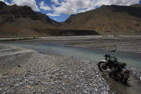 Six wanderers ride to Ladakh