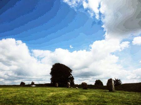 Avebury Neolithic Stones & Cherhill White Horse