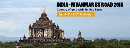 India to Myanmar By Road - 2015