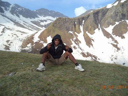 Shrikhand Mahadev trek at Rampur in Himachal Pradesh