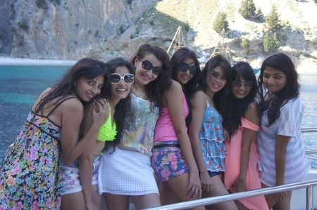 8 sisters in Greece and Turkey