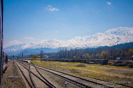 Srinagar-Banihal Via Pir Panjal Railway Tunnel, Jammu & Kashmir, India
