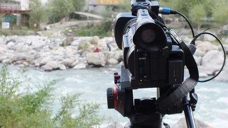 The shoot to Leh.