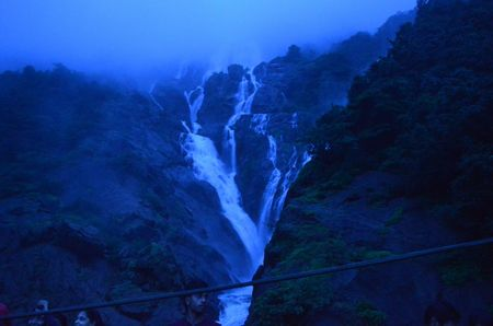 We set out to visit Dudhsagar Falls; We reached HERE instead