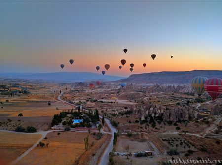 Cappadocia Hot Air Balloon: Up above the world so high!