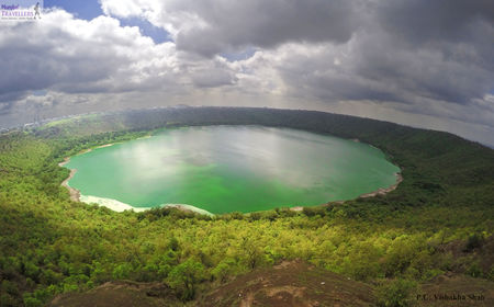 Lonar Crater Lake: 500 km from Mumbai, This Cosmic Crater Lake Is A Marvel Hiding In Plain Sight