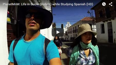 A Day of Life in Sucre, Bolivia (Video)