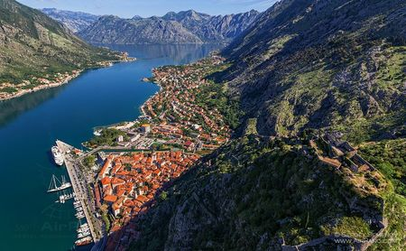Montenegrians coast and towns in one day