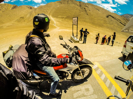 Motorcycle tour of Ladakh