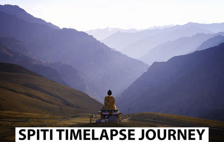 3 Months in Himalaya's - Spiti - Timelapse Journey.