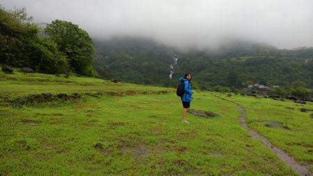 "Rajmachi-  Lord of the ""Jharnas""- Biker's Paradise- Traveller's Fairytale!!"