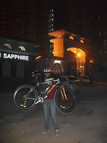 """Delhi to Agra By """"Cycle"""""""