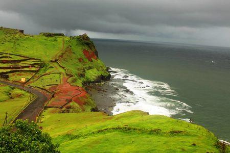 Romancing the Monsoon on -The Konkan Highway