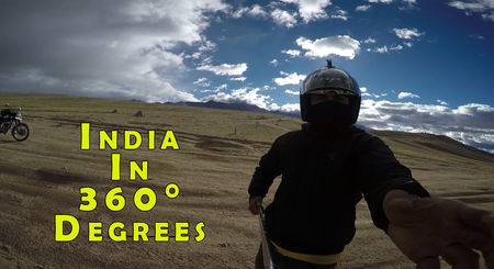 Around India in 360° degrees