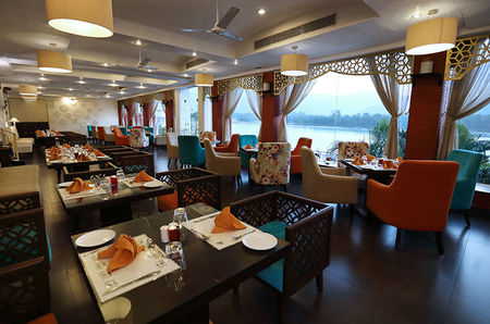 Material and Spiritual comforts at Ganga Kinare -A Riverside Boutique Hotel in Rishikesh