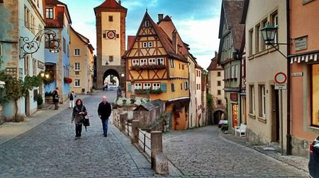 Rothenburg ob der tauber- Gem on Germay's romantic road.